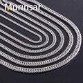Largura 4.5 / 6 / 6.6 / 7.5 / 9 mm homens colar de aço inoxidável cadeia de alta qualidade da ligação cadeia colar de aço inoxidável de jóias por atacado