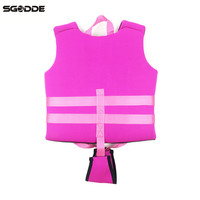SGODDE Baby Life Jacket EPE Buoyancy Vest Protection Swimming Drifting Water Sport Life Vest Children Swimming Pool Accessories