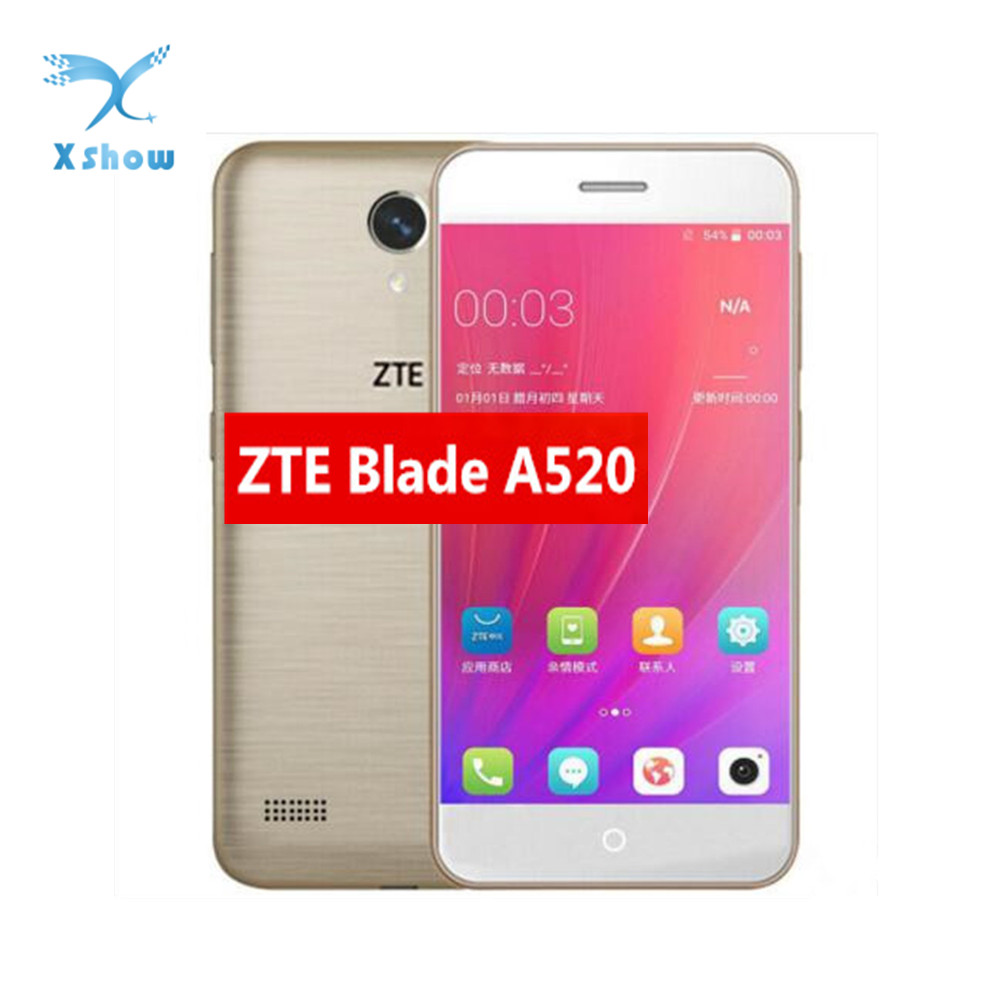 ZTE Blade A520 Mobile Phone 1 2GB 8 16GB 5 0 1080 720 Quad Core Android