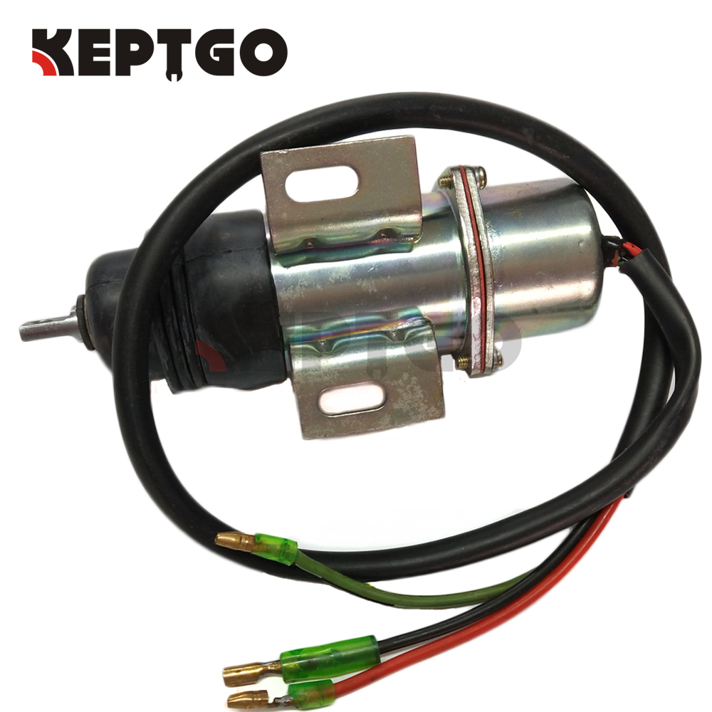 716/30097 24v Shutoff Solenoid For JCB JZ70 JS70 Engine 71630097 плоскогубцы jcb jpl005