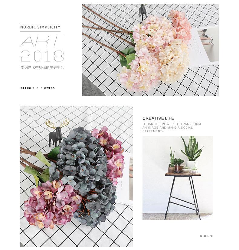 Buatan Hydrangea Dekorasi Pernikahan 9