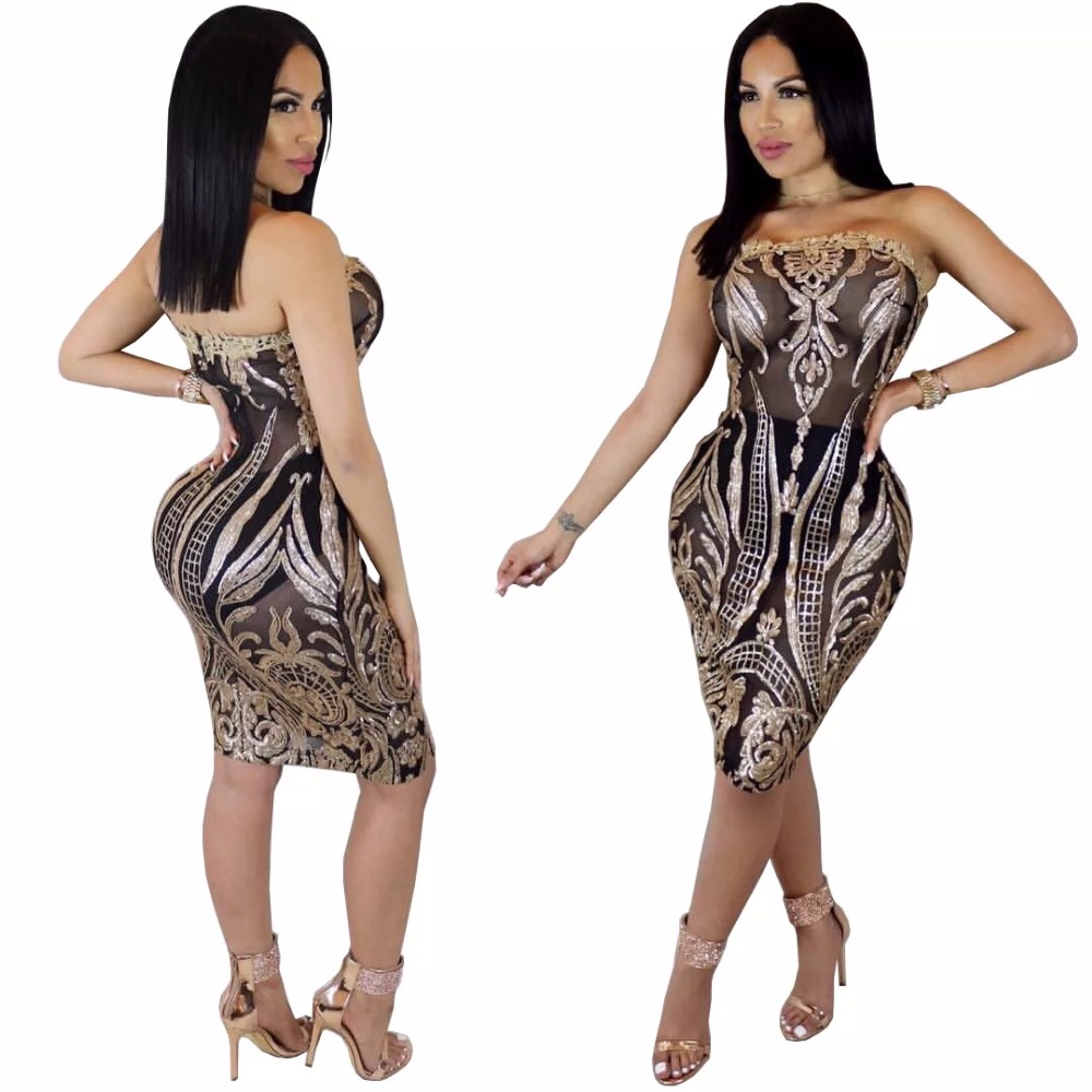 a6cee0fb18 2018-New-SexeMara-Sexy-Strapless-Gold-Black-Sequins-Slim-Fit-Tight-Bodycon- Dress-Mini-Club-Party.jpg