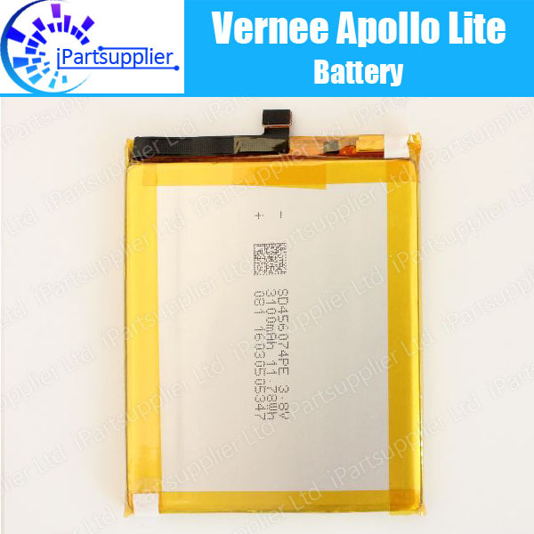 Vernee Apollo Lite Battery Replacement 100% Original New High Quality High Capacity 3180mAh Battery for Vernee Apollo Lite