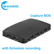 YK940 4K2K UHD Record Capture BOX 1080P Capture HDMI Recorder Box HD video for DVD OTT Receiver PC Xbox with Schedule recording