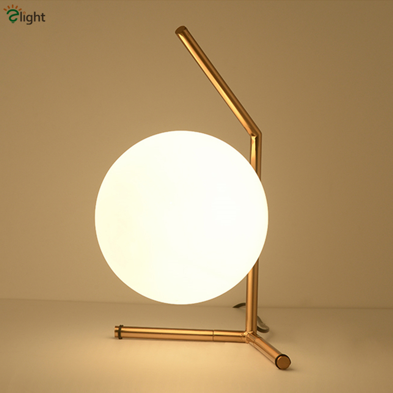 Milan Minimalism Brush Brass IC Light Table Lamp Modern Triangle Art Deco Metal Frosted Glass Led Desk Lamp For Study Room art deco aluminum led lamp desk led bulbs