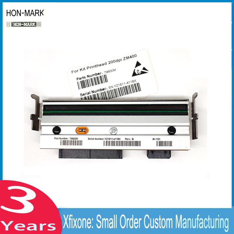 Prix pour HON-MARK Nouvelle Imprimante Fournitures Compatible Code À Barres tête D'impression Tête d'impression Zebra ZM400 203 dpi RZ400 203 dpi