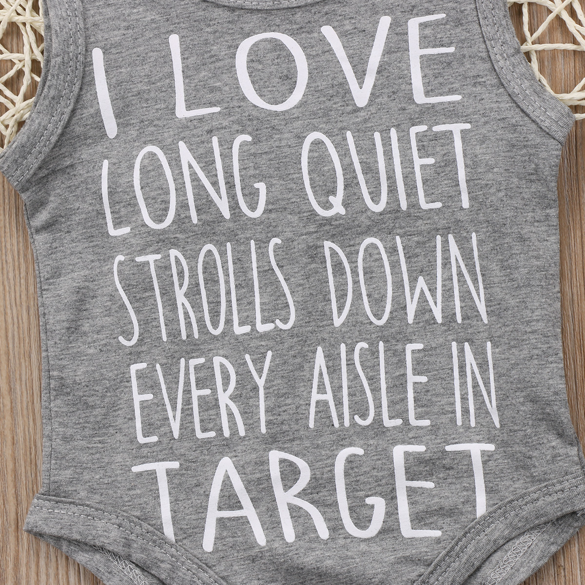 c5a91950a1 2017 I LOVE Target Grey Newborn Baby Boys Girls Infant Romper Jumpsuit  Playsuit Outfits-in Rompers from Mother & Kids on Aliexpress.com | Alibaba  Group