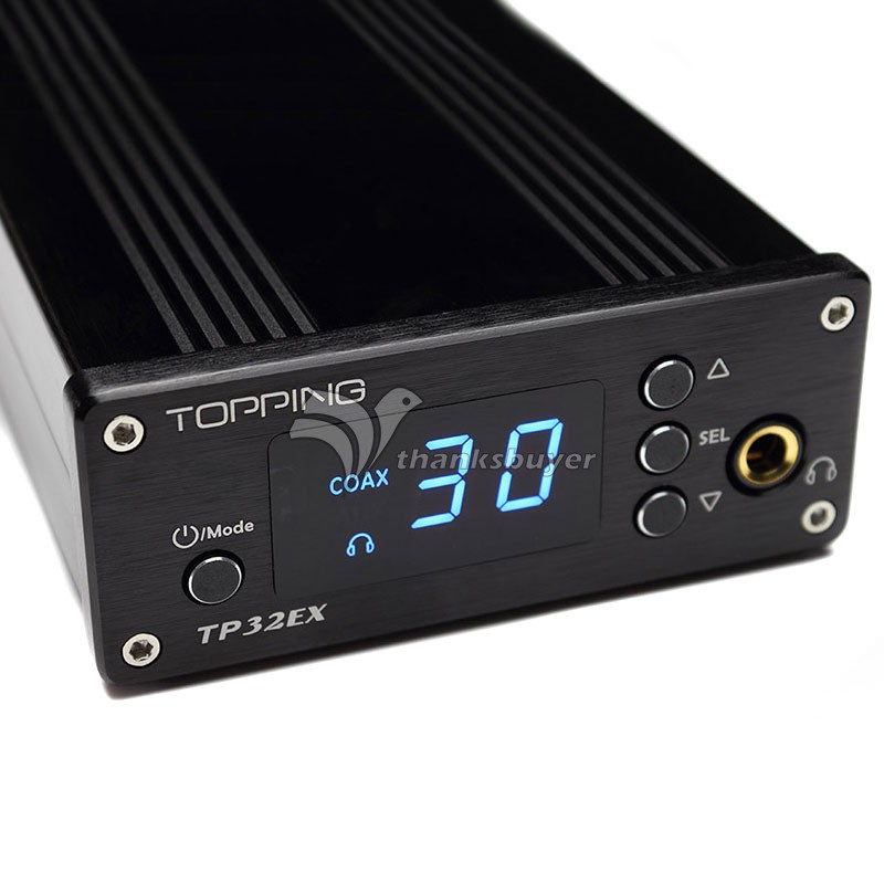 TOPPING TP32EX HIFI Digital AMP Amplifier Class T 50Wx2 USB DAC TK2050 with Remote Controller original topping nx3 portable usb dac headphone amplifier hifi stereo audio amplifier amp tpa6120a2 black silver amplificador