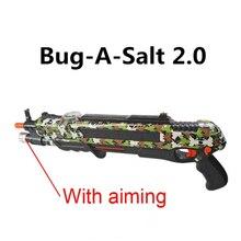 12 Тип горячий летний подарок Жук солонка Летающий пистолет соль перец пули бластер pistola страйкбол пистолет kill Mosquito flyToy открытый солевой пистолет