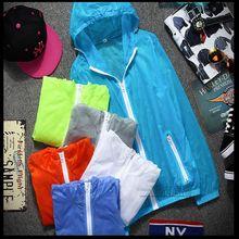 new man jackets sun-protective Skin clothing Sun protection UV ultra-thin breathable waterproof coat