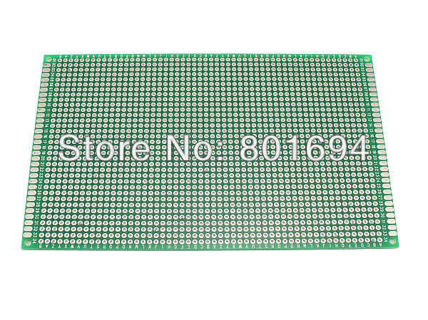 10 Pcs/Lot Double Side 9CM * 15CM Protoboard PCB Soldering Circuit Board Blank ...