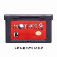 Mother 3 32 Bit Video Game Cartridge Console Card US Version English marioed party 1 2 3 ntsc english version 64 bit game console cartridge