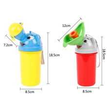 New Portable Baby Urinal Boys Girls Leak-proof Child Urinals Travel Toilet Cartoon Chamber Pots Hot Sale Baby Potties