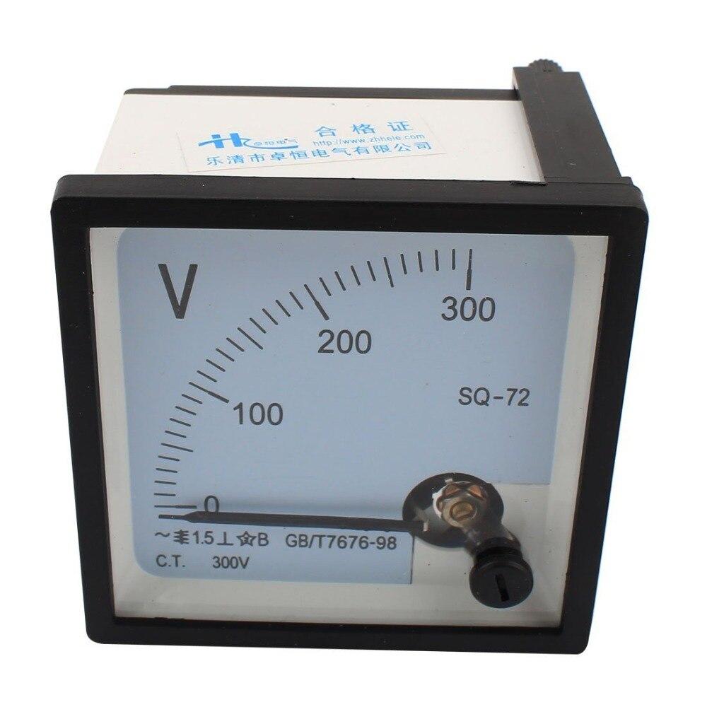 SQ-72 Класс 1,5 AC 0-300V 450V 500V 250V Аналоговый квадратный вольтметр Панель Вольтметр 72*72 мм