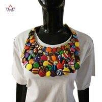 2017 חדש בסגנון אפריקאי choker שרשרת מוטה צבע תכשיטי גוף שרשרת שמירה על נשים צווארון מזויף כפתור כמתנה wyb155