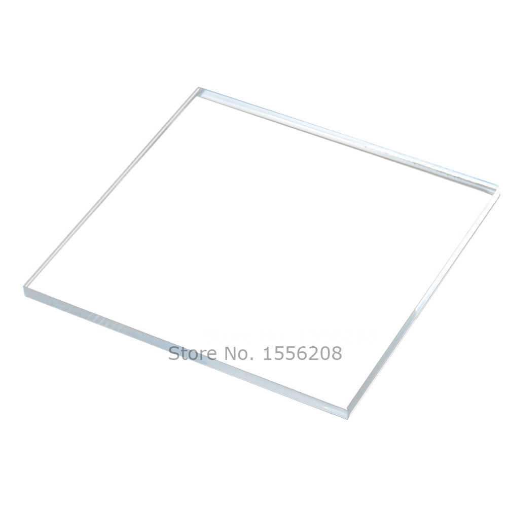 Square Wedding Place Cards Clear Acrylic Blanks Custom