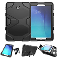 3 in 1 Hybrid Heavy Duty Shockproof Dual Layer Military Armor Back Cover Case For Samsung Galaxy Tab E 9.6 T560 SM-T560 T561