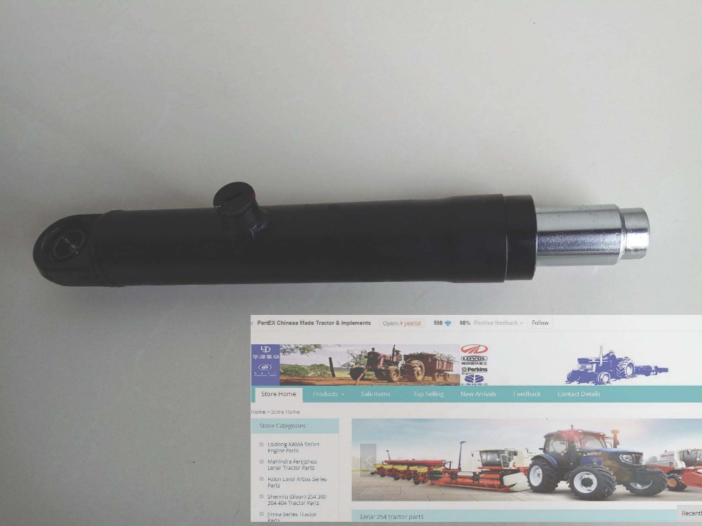 QJ554.31.021-1, the power steering cylinder for Foton 55-65 HP series tractor aluminum water cool flange fits 26 29cc qj zenoah rcmk cy gas engine for rc boat