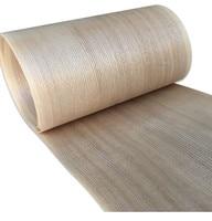 2x revestimento de madeira genuíno natural do folheado da cinza chinesa com o folheado 20cm x 2.5m da mobília do tecido q/c
