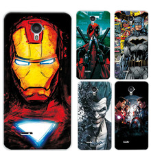 "Charming Painted Case Cover For ZTE Blade A210 4.5"" Marvel Avengers Captain America Deadpool Funda For ZTE Blade A210 Een 210(China)"