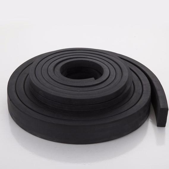 3x15 20 25 30 mm Foaming EPDM rubber seal strip Square Oblong damper ...