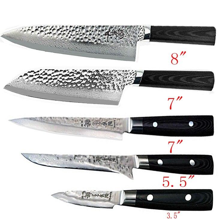 4 quot 5 quot 6 quot 7 quot 8 quot inch damascus knife vg10 steel damascus