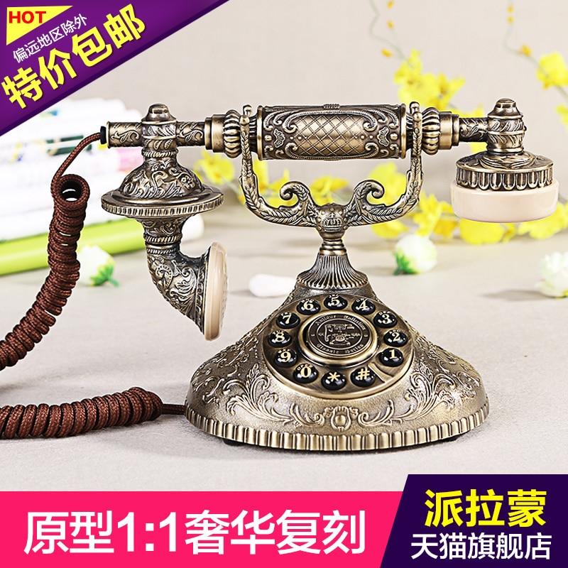Aggressiv Ha1931 Antike Telefon Hohe Qualität Vintage Stil Metall Rumpf Dauerhafte Modellierung
