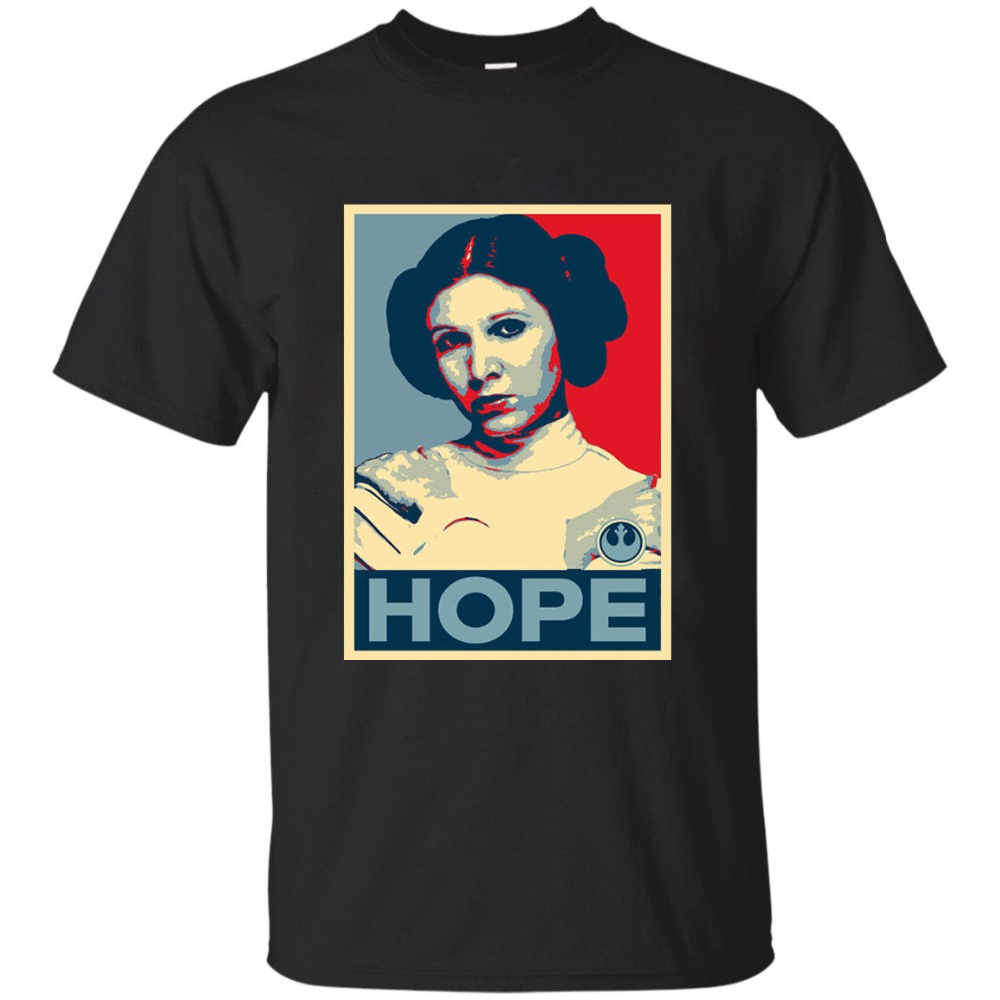 2019 Fashion Hot sale Princess Leia Hope T Shirt Star Wars ... Old Princess Leia Shirts