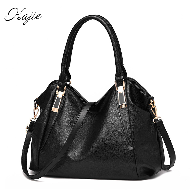 Kajie 2018 Designer Women Handbags Ladies BaoBao Bolsa Feminine  Shoulder Crossbody Tote Bag Large Capacity OL Office Purse brand designer large capacity ladies brown black beige casual tote shoulder bag handbags for women lady female bolsa feminina page 3