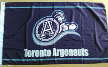 Toronto Argonauts Flag 3×5 FT  Banner 100D Polyester CFL flag 1509, free shipping