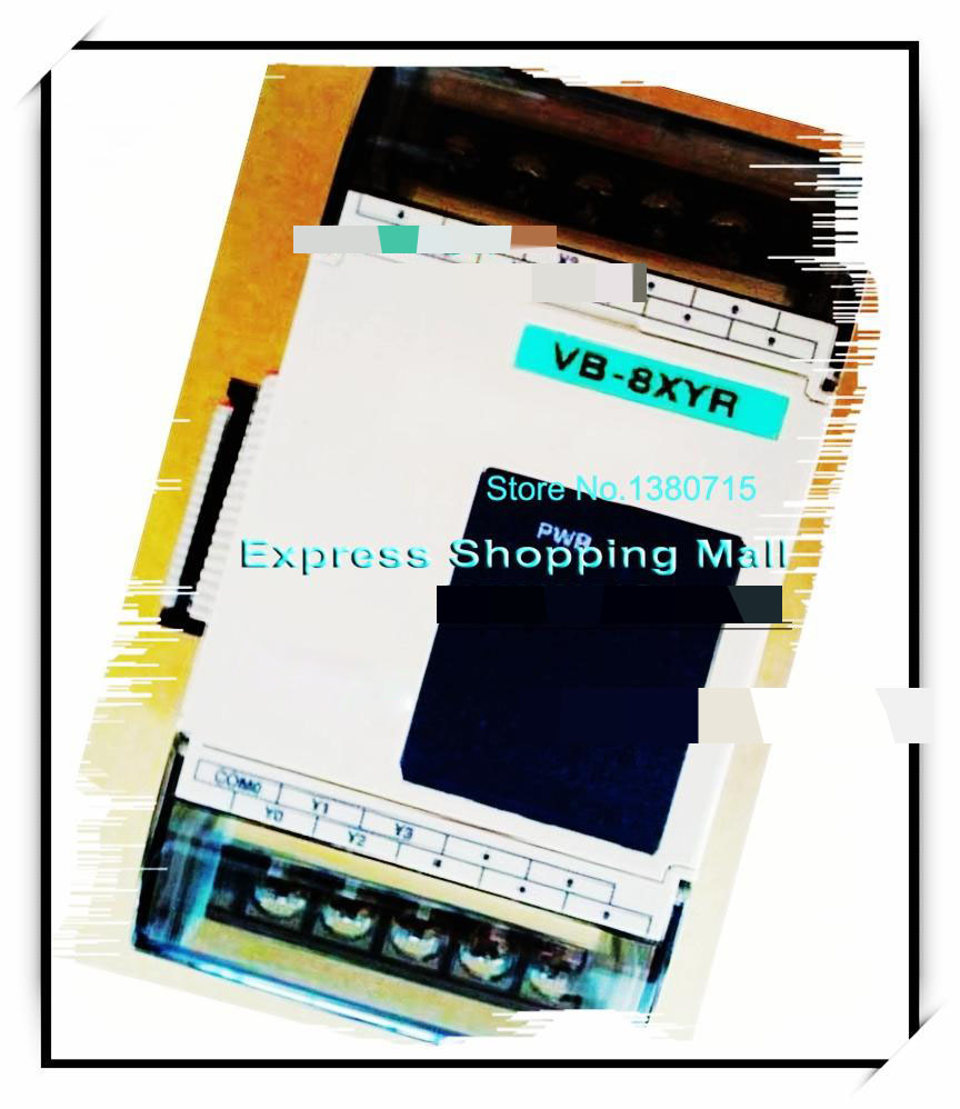 New Original VB-8XYR PLC 24VDC 4 point DC24V input 4 point output Expansion Module new original vb 16yr plc 24vdc 16 point input expansion module