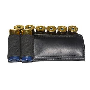 Image 3 - Airsoft Rifle Hunting Tactical Shotgun Shells 8/9 Butt cartridge Stock Shell Holder Elastic Fabric Shotshell Ammunition