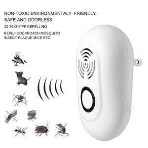 Image 5 - جديد جهاز مبيد للصرصور بالموجات فوق الصوتية جهاز العناكب الفئران القوارض الحشرات القاتل عديم الرائحة المنزلية مردعة آفات بالموجات فوق الصوتية