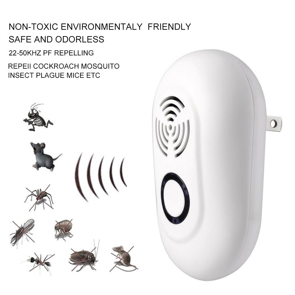 Image 5 - New Ultrasound Mouse Cockroach Repeller Device Spiders Mice Rodents Insects Killer Odorless Household Ultrasonic Pest Repeller-in Repellents from Home & Garden