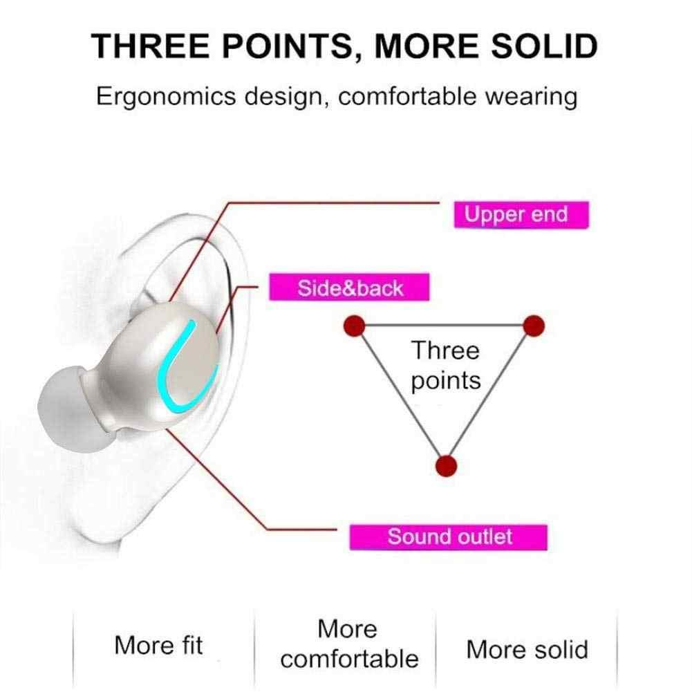 IPX5 Bluetooth 5,0 наушники 1500 mAh зарядки коробка СПЦ Беспроводной наушники вкладыши для huawei Honor 10 Премиум (GT) 10 Lite