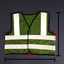 Flash Deals Safety Vest Reflective Famous Brand Zojo High Safety Clothingsize 50*45cm Children Coveralls 5-10t Security V002-4