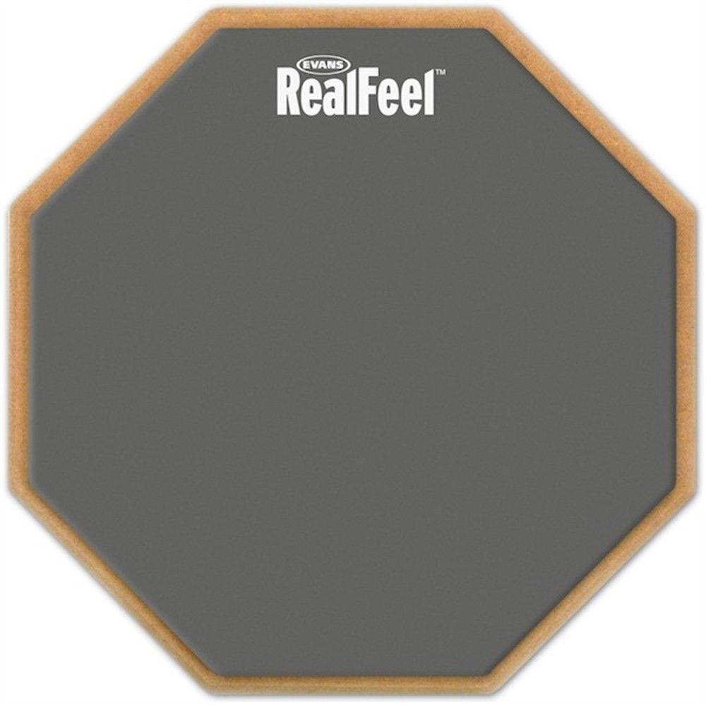 Эванс по daddario rf12g realfeel Практика Pad 12 дюйм(ов)-1 двусторонняя Скорость Pad ...