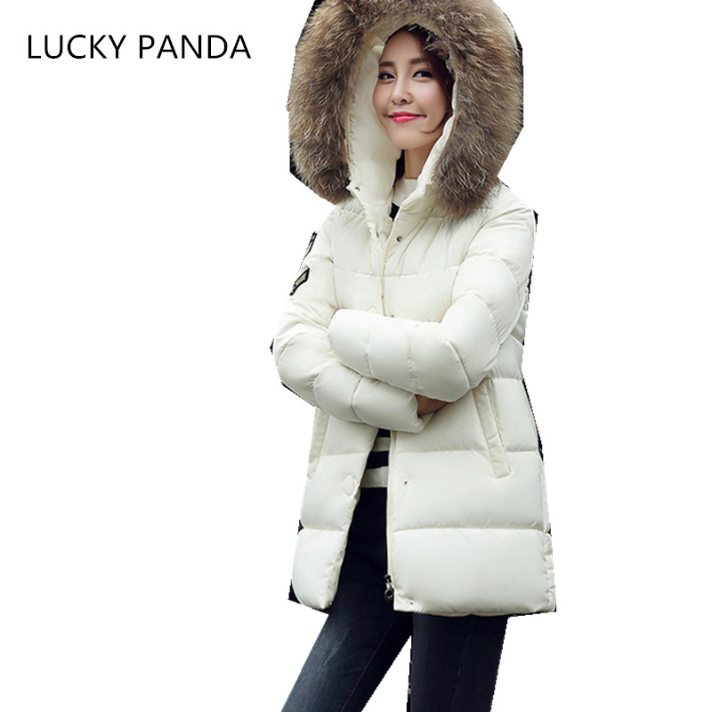 LUCKY PANDA 2016 WOMAN  the new code of women in the long fat thick coat jacket lady jacket LKB199 эхолот lucky ffw718li