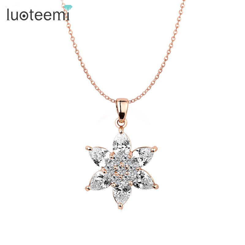 Aliexpress Com Buy 1440pcs Gold Bottom Crystal Clear: Aliexpress.com : Buy LUOTEEMI Brand New Pink Rose Gold