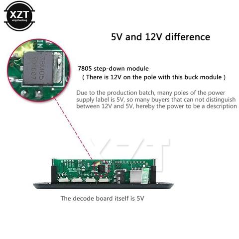 Hot Sale DC 5V 12V Micro USB Power Supply TF Radio MP3 Decoder Audio Board For Car Remote Music Speaker Karachi