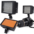 160 LEDs Photo Studio Light 9.6W 5600K/3200K Photos Flash Light with Hot Shoe DC LED Light for Nikon for Canon
