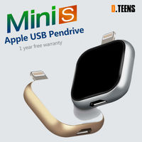Dteens Unidade Flash USB Pendrive para o produto Da Apple para o iphone 7 7 s 5/5S/6/6 s/plus/Ipad pendrive de armazenamento externo para o iphone 8 x