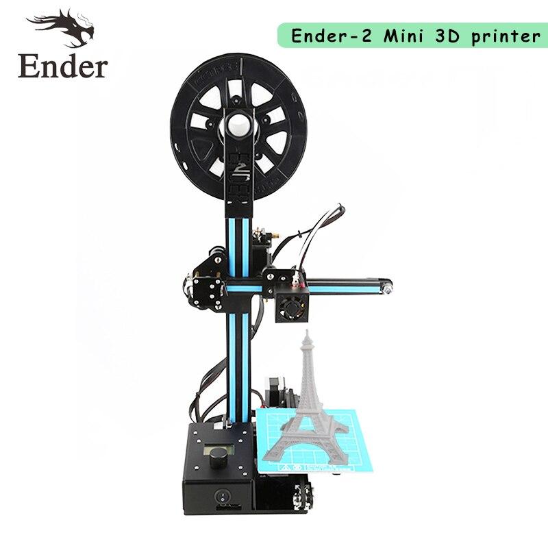 2017 Newest Easy Assemble Ender 2 3D Printer DIY KIT 3d printer Reprap prusa i3 filament