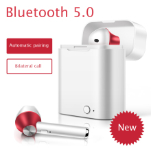 MAERKNON D012TWS mini wireless bluetooth headset stereo with charging box smartphone