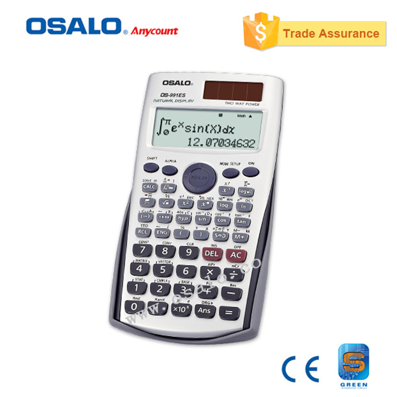 OS 991 Plus Scientific Calculator Dual Power Calculadora Cientifica with Languages Specification As Office School Gift