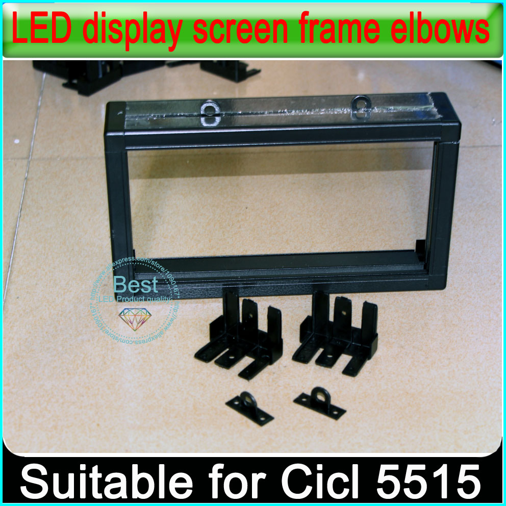 5515 rahmen Kunststoff ecke P3/P4/P5/P6/P10/P16 Led anzeige Rahmen ...