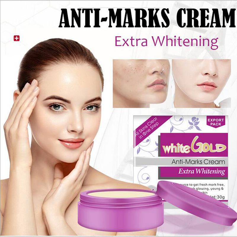 30g white gold acne whitening pearl cream deep moisturizing and anti-wrinkle anti-aging re