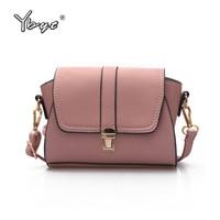 YBYT Brand 2017 New Fashion Vintage Soft PU Leather Women Flap Hotsale Ladies Evening Bag Mini