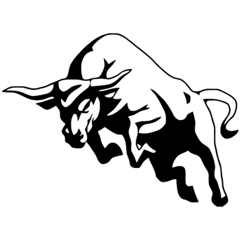 CK2099#20*14.7cm angry bull funny car sticker vinyl decal silver/black car auto stickers for car bumper window car decorations ck2717 20 15cm number 23 funny car sticker vinyl decal silver black car auto stickers for car bumper window car decorations