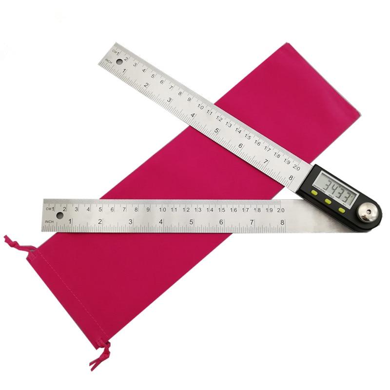 Füllstandmessgeräte 200 300mm Digitale Winkelmesser Neigungs Goniometer Ebene Messung Werkzeug Elektronische Winkel Gauge Edelstahl Winkel Herrscher Werkzeuge